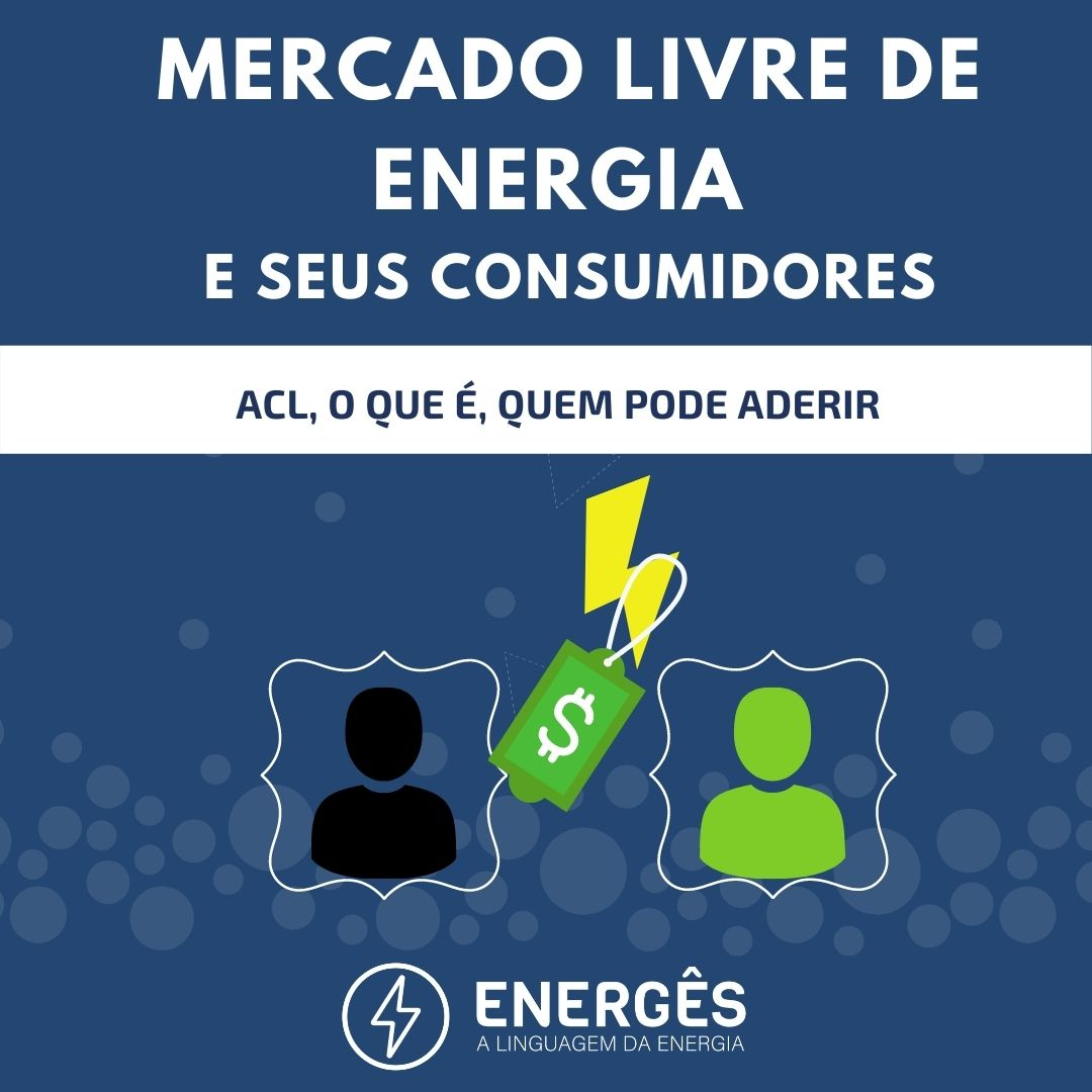 Capa dos posts 1 - O MERCADO LIVRE DE ENERGIA E SEUS CONSUMIDORES