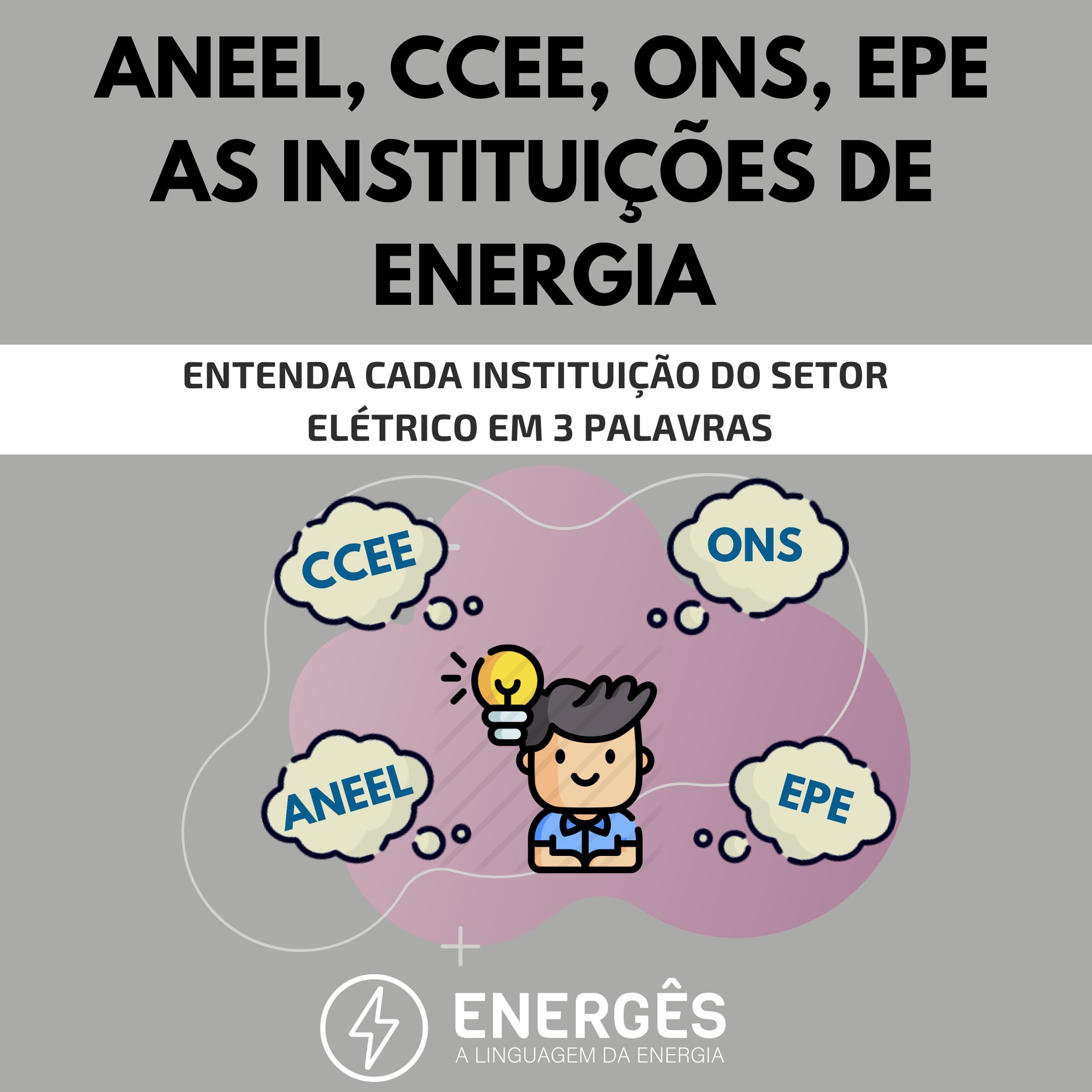 instituições de energia