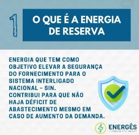 oq é - 5 PASSOS PARA SABER TUDO SOBRE ENERGIA DE RESERVA