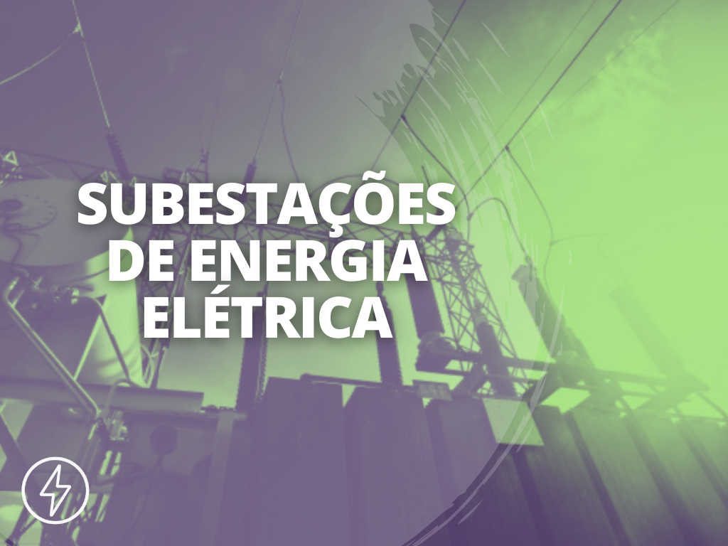 Capa Subestações de Energia Elétrica - BLOG
