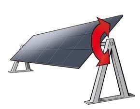 eixo único - ENTENDA COMO FUNCIONA O SEGUIDOR SOLAR (TRACKER)